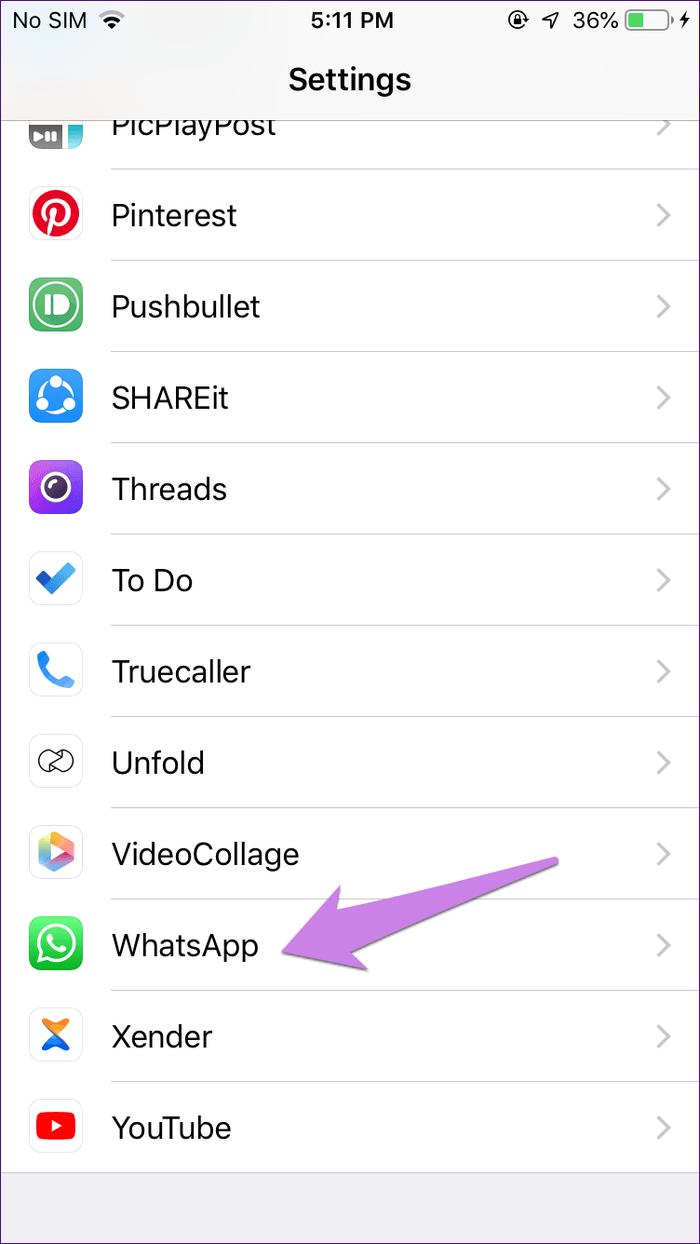 دیده نشدن پیام در واتساپ