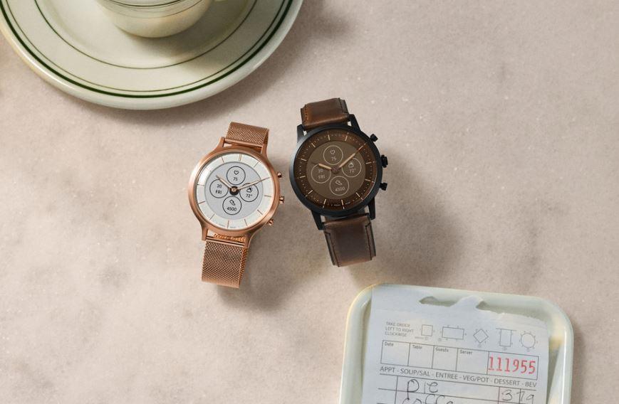رونمایی فسیل از ساعت هوشمند Hybrid HR