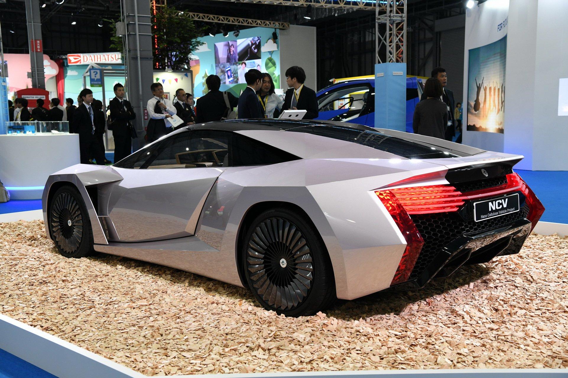 ساخت خودروی حیرت انگیز بازیافتی در ژاپن!