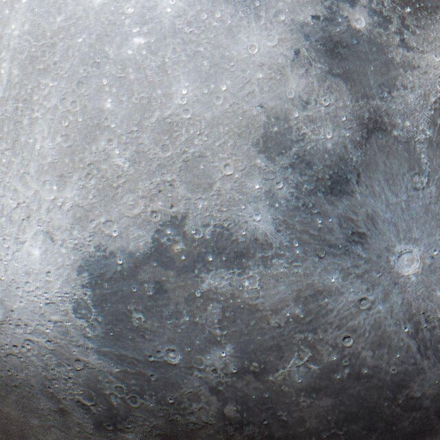 زیباترین تصویر ماه در یک قاب ۵۲ پیکسلی