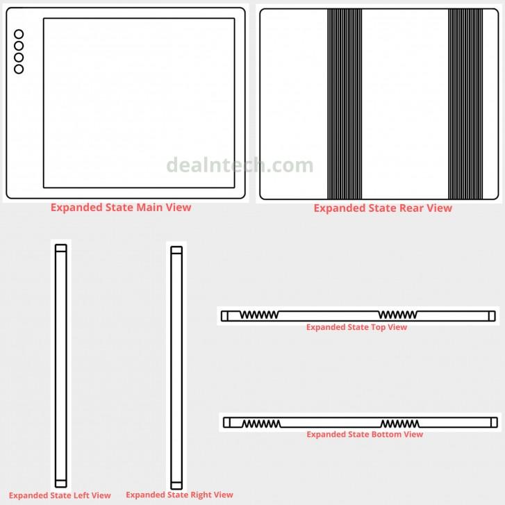 می میکس آلفا در قالب یک گوشی تاشو؛ طرح جدید شیائومی