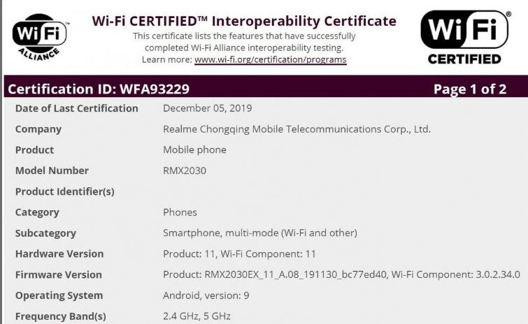 ریلمی 5i، گوشی جدید سری 5 اوپوو ریلمی در راه است!