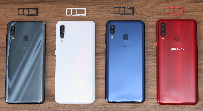 مقایسه گوشی a20s با a30s