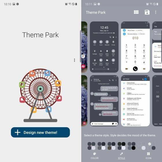 « Theme Park» قابلیتی جدید برای سفارشیسازی رابط کاربری OneUI