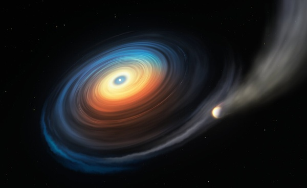 کشف سیاره ای که در اطراف یک ستاره خاموش می چرخد