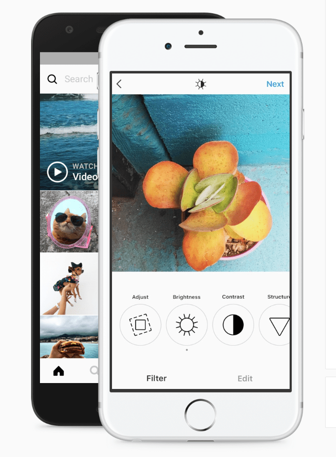 نحوه ارسال عکسهای پرتره یا منظره در اینستاگرام بدون برش