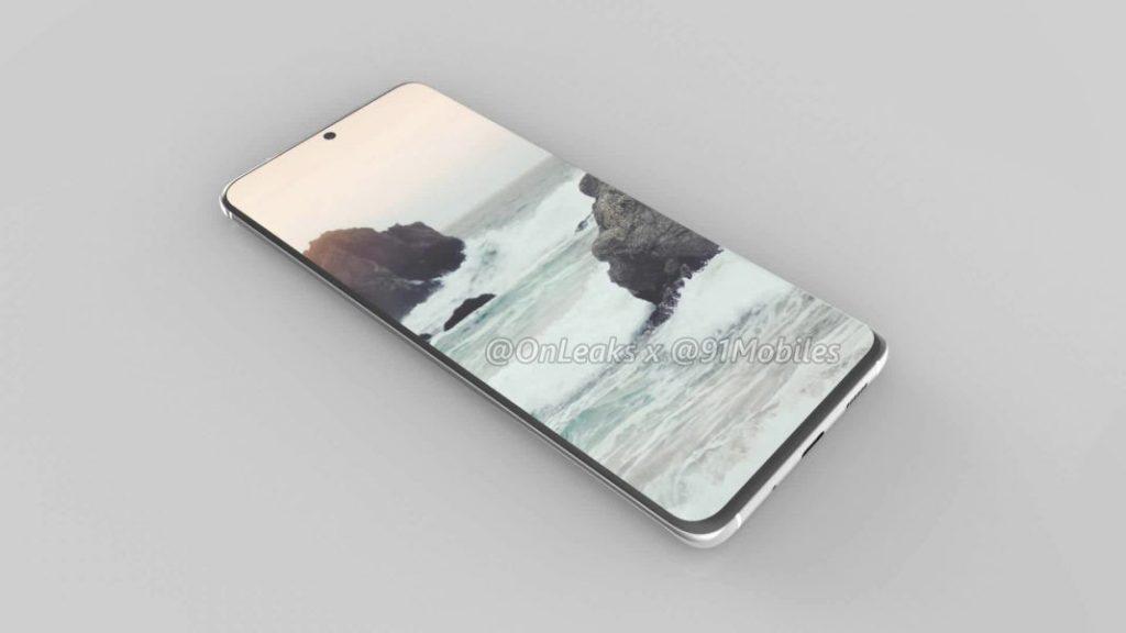تصویر لو رفته از محافظ صفحه نمایش گلکسی S11