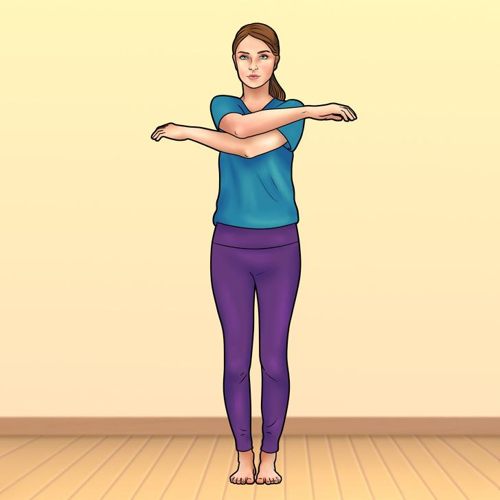 گارودآسانا؛ یک تمرین ساده برای پیشگیری از کمردرد تنها در 2 دقیقه!