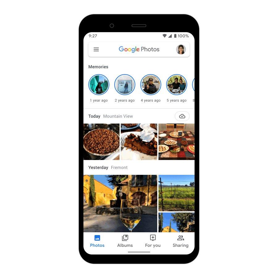 امکان ارسال پیام به Google Photos هم اضافه شد
