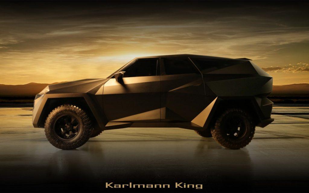 Karlmann King: گرانترین شاسی بلند دنیا با 6 تن وزن!