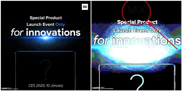 رونمایی از Xiaomi Mi MIX 4 در ژانویه 2020