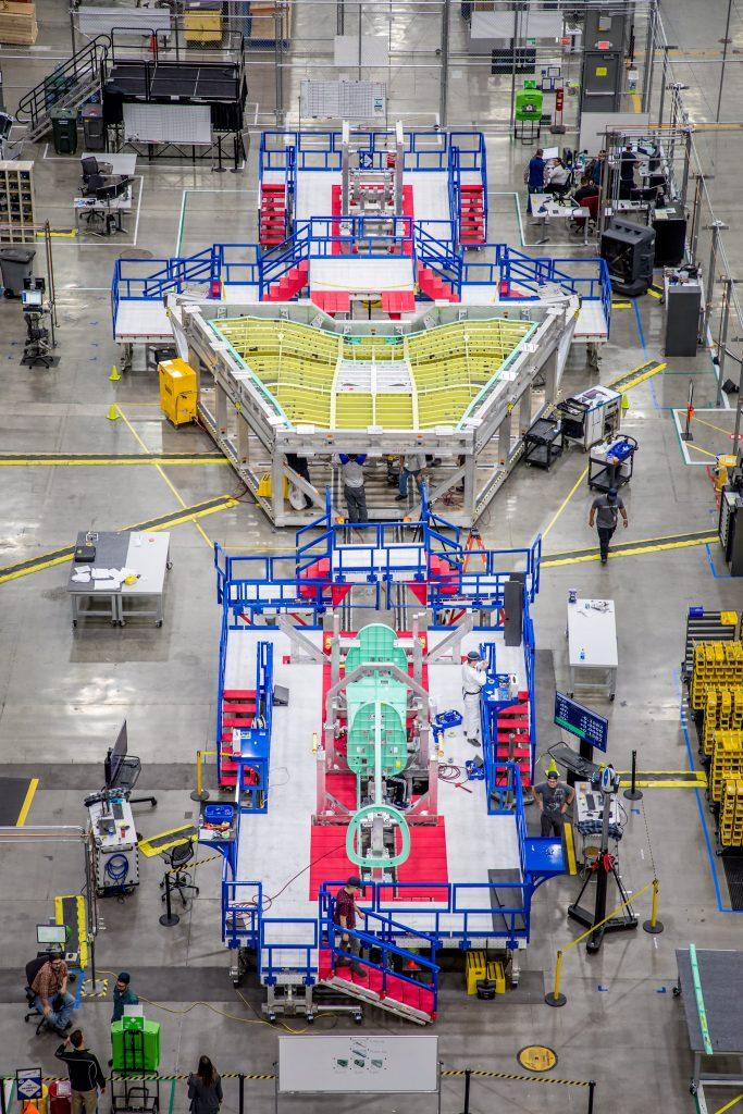 آغاز مونتاژ نهایی جت مافوق صوت ناسا با سرعت ۱۵۰۰ کیلومتر بر ساعت!