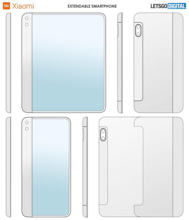 آیا این پتنت اولین گوشی تاشو شیائومی خواهد بود؟