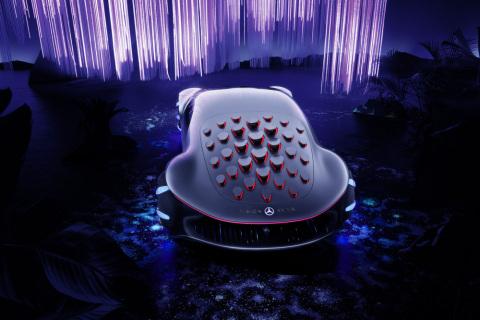 VISION AVTR؛ ماشین خاص مرسدس در CES 2020!